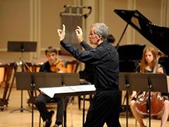 New Music Ensemble – David Dzubay, director; Michael Schelle, guest composer