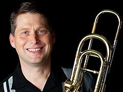 Denson Paul Pollard, bass trombone; Kimberly Carballo, piano; Thomas King, speaker
