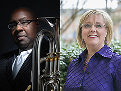 Demondrae Thurman, euphonium; Kathryn Fouse, piano