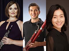 ToniMarie Marchioni, oboe; Oleksiy Zakharov, bassoon; Byunghee Yoo, piano